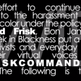 STOP Stop & Frisk: http://twib.me/stopfriskingmebro Buy on iTunes: http://twib.me/10friskitunes Support Indie Media – http://donate.twib.me http://thisweekinblackness.com http://twitter.com/jasiri_x http://twitter.com/willieev http://twitter.com/elonjames Lyrics #10FriskCommandments Remix LYRICS Hands up if you ever seen a handcuff… Hands up if […]
